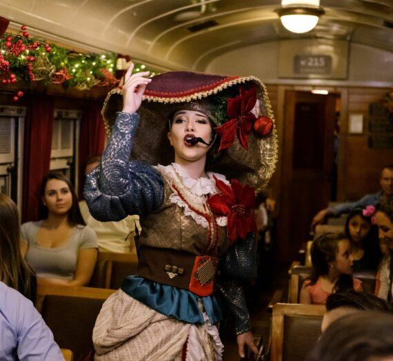 Natal Sobre Trilhos na Maria Fumaça – Trem do Vinho, uma viagem com a essência e o encantamento do Natal