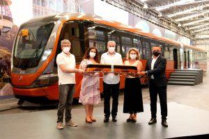 Giordani Turismo adquire primeiro modelo VLT (Veículo Leve sobre Trilhos) produzido pela Marcopolo